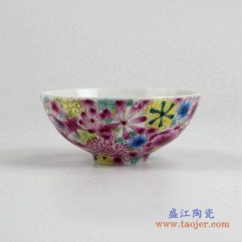 ryic36    粉彩小单杯 水杯茶杯 景德镇 厂家直销