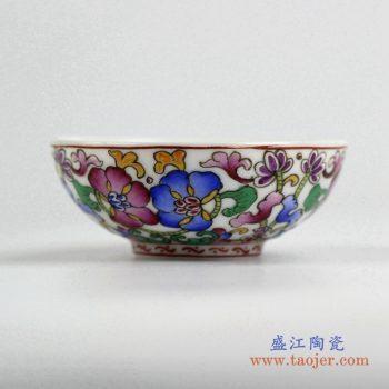 ryic37    粉彩小单杯  水杯茶杯 景德镇 厂家直销