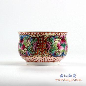 ryic38     粉彩茶杯水杯厂家直销  景德镇