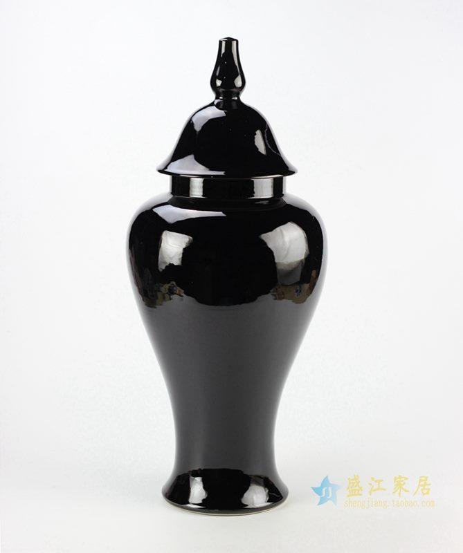 颜色釉罐   景德镇  艺术摆件品  厂家直销