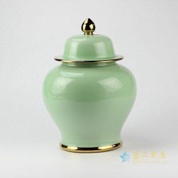 rykb131-l    颜色釉将军罐  艺术摆件品  厂家直销