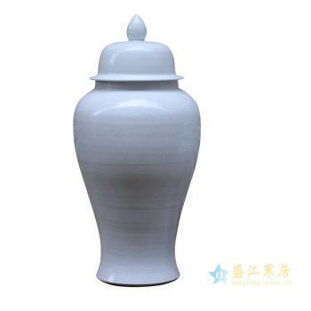 rykb140-a    景德镇   颜色釉将军罐  白色艺术罐 摆件品   厂家直销