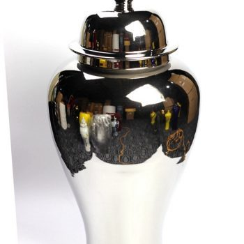 rykb140-d    景德镇  镀金将军罐   艺术花瓶摆设品  厂家直销