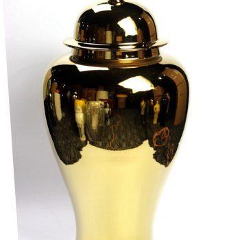 rykb140-e     镀金将军罐艺术瓶摆件品厂家直销