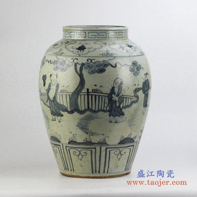 墨色花瓶花插 艺术摆件品