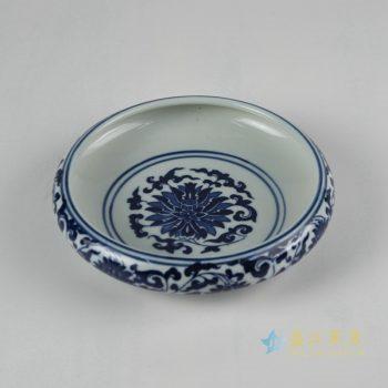 rzfu14-a-30jian-c73-23    青花缠枝莲水洗水浅 鱼缸