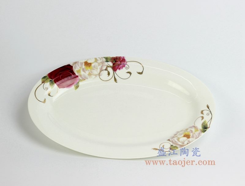 骨瓷 12寸 鱼盘 菜盘 陶瓷用具