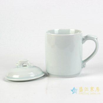 rzic04    青釉 龙头 办公杯 茶杯  办公用具