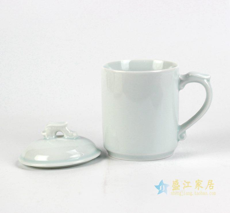 青釉 龙头 办公杯 茶杯 办公用具
