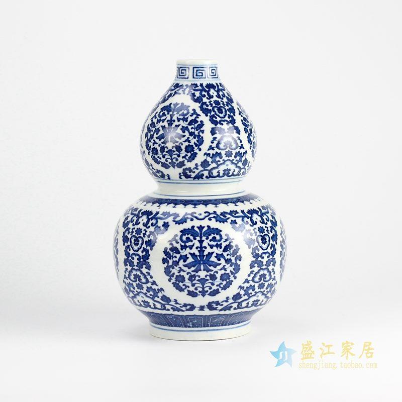 青花葫芦瓶 景德镇 厂家直销 艺术摆件品