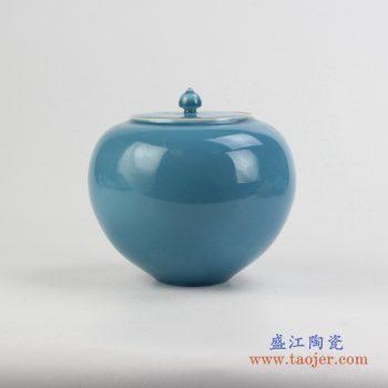 rzjr02    颜色釉罐   储物密封罐  景德镇   厂家直销