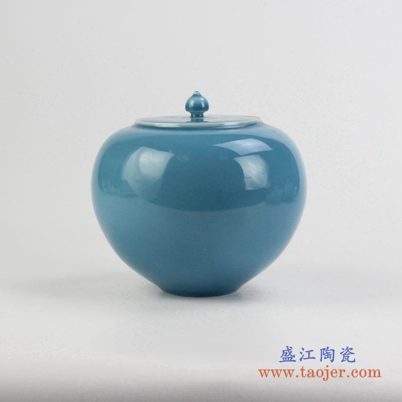 颜色釉罐   储物密封罐  景德镇   厂家直销