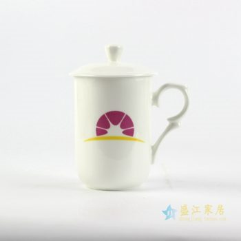 040-rydi-cbdi48 定做logo 骨质瓷 茶杯 水杯 办公杯景德镇厂家直销