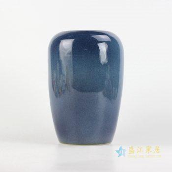036-rynq-b    定做定制颜色釉花釉 花瓶   景德镇 厂家直销
