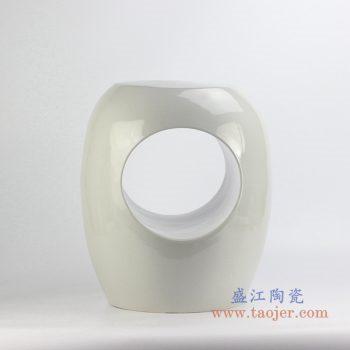 ryir119    定做定制白色圆孔凉凳花园凳  换鞋凳