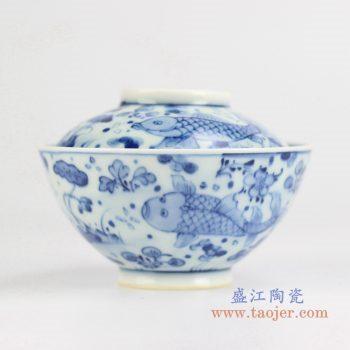 rywd21-b 青花鱼汤锅 品锅 盛汤用具