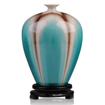 ryyo03-a     高温颜色釉 梦幻釉 窑变 水滴瓶  花瓶