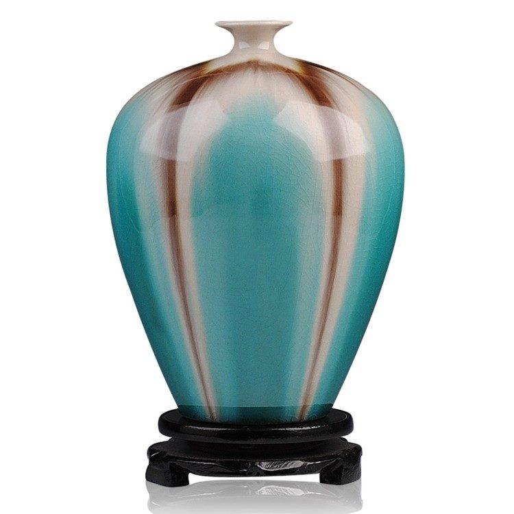 高温颜色釉 梦幻釉 窑变 水滴瓶  花瓶