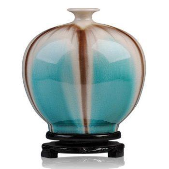 ryyo05-a    高温颜色釉 梦幻釉 窑变 石榴瓶  花瓶