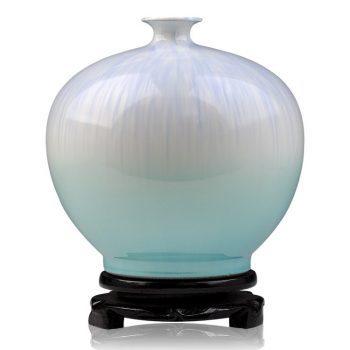 ryyo05-d    高温颜色釉 梦幻釉 窑变 石榴瓶 不开片 花瓶