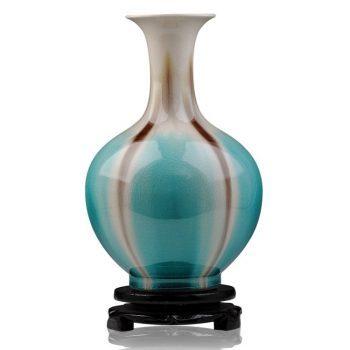 ryyo06-a     高温颜色釉 梦幻釉 窑变 赏瓶 花瓶