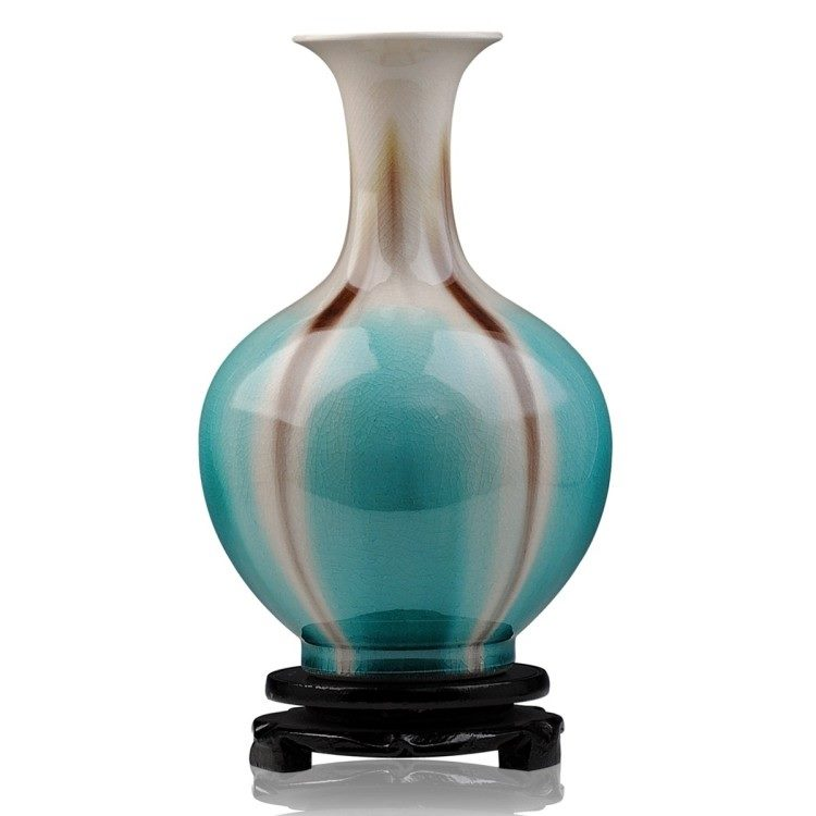 高温颜色釉 梦幻釉 窑变 赏瓶 花瓶