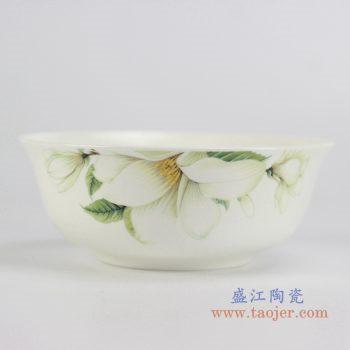 rzhf04-d   6寸骨瓷百合面碗汤碗餐器用具