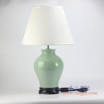 rzjx02 颜色釉绿色台灯灯具