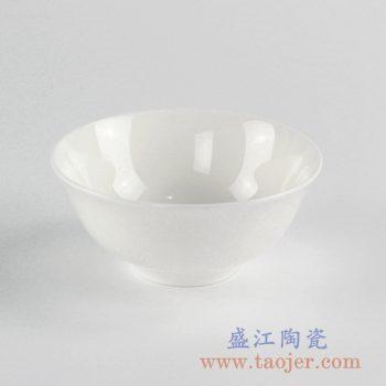 RZKF01_骨质瓷白胎陶瓷碗 饭碗 汤碗 陶瓷餐具