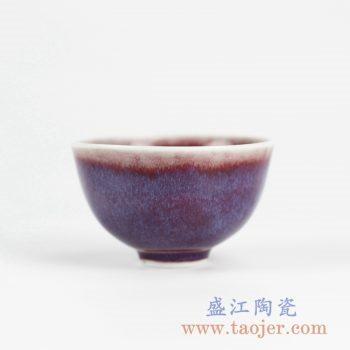 2L15_景德镇颜色釉窑变小单杯品杯品茗杯 茶具