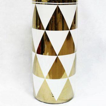 RZKA171038_现代几何图形花瓶摆件 家居装饰陶瓷花瓶 简约风格