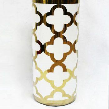 RZKA171044_几何花纹现代装饰风格花瓶 家居装饰摆件 简约风格
