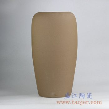 RZLD01_景德镇手工制作陶艺大花瓶陶瓷缸 现代简约装饰摆件家居陈设落地陶瓷花瓶