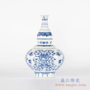 RYCI54-A   新中式仿古青花瓷花卉花瓶