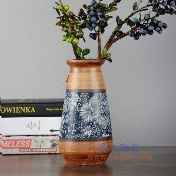 RZLJ02   陶艺陶瓷花瓶花插摆件品