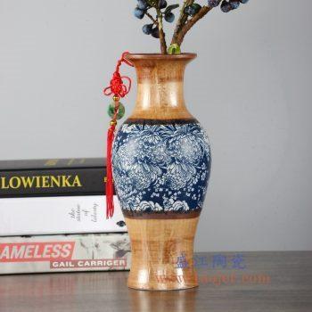 RZLJ08    陶艺陶瓷赏瓶花瓶花插摆件品