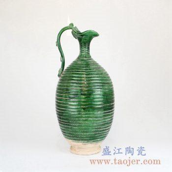 RZLM01 颜色釉陶瓷异形花瓶花插景德镇陶瓷瓷器手工瓷器
