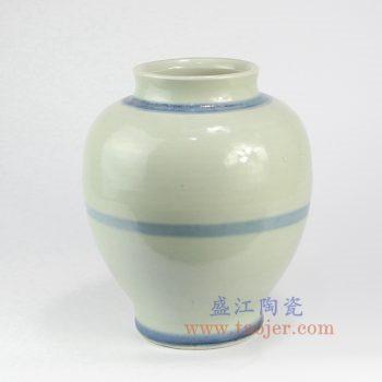 RZNA15-景德镇陶瓷 仿古全手工 明朝 写意 青花陶瓷罐