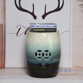 RYIR123-A 景德镇陶瓷 陶瓷装饰鼓凳凉墩坐墩换鞋梳妆圆凳子