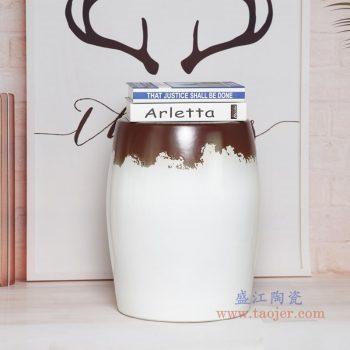 RYIR123-D 景德镇陶瓷 陶瓷装饰鼓凳凉墩坐墩