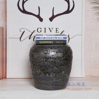 RYIR134-A 景德镇陶瓷 陶瓷装饰鼓凳凉墩坐墩换鞋梳妆圆凳子