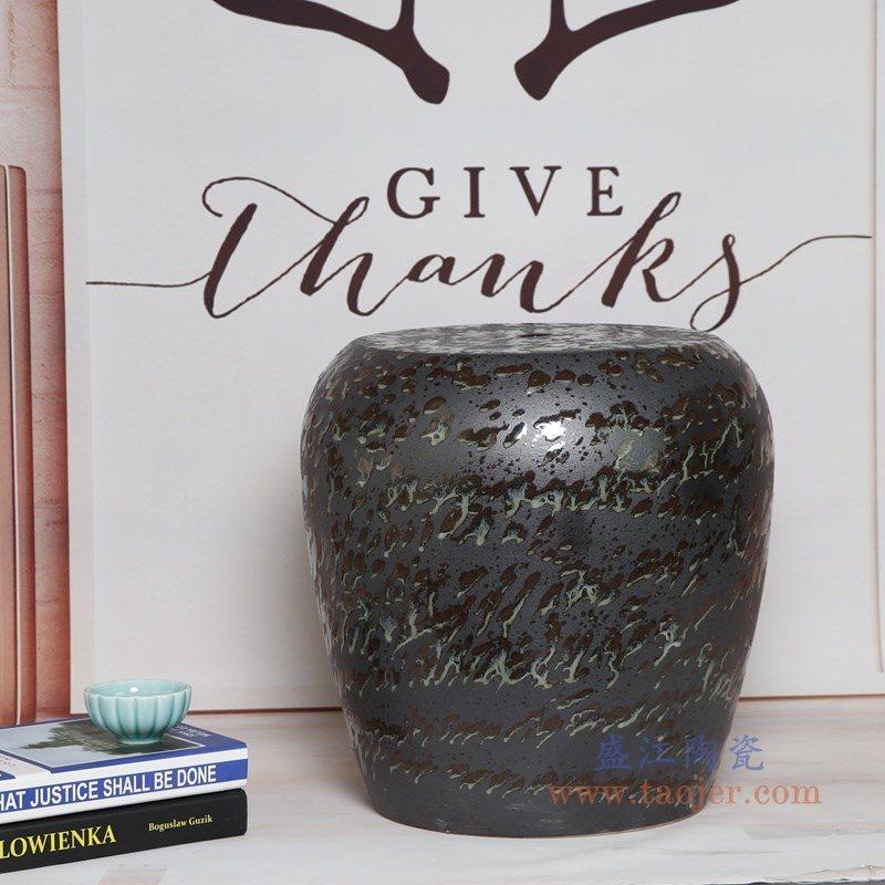 RYIR134-A 盛江陶瓷 陶瓷装饰鼓凳凉墩坐墩