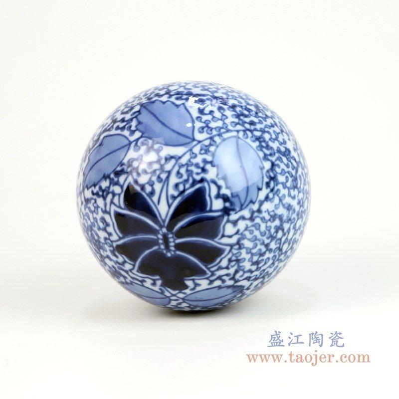 RYPU23-G 盛江陶瓷 陶瓷球摆件