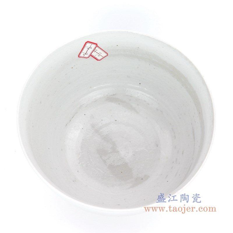 RZPI02-B 盛江陶瓷 仿古做旧白色小碗