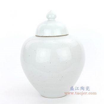 RZPI05-A 景德镇陶瓷 仿古做旧高温单色储物罐