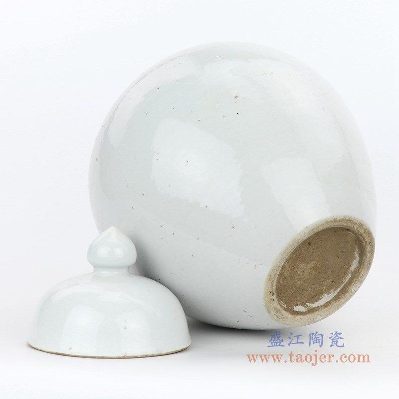RZPI05-A 盛江陶瓷 仿古做旧高温单色储物罐