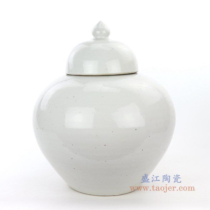 RZPI05-B 盛江陶瓷 仿古做旧高温单色储物罐大