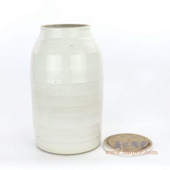 RZPI06-A 景德镇陶瓷 仿古做旧高温中号茶叶罐