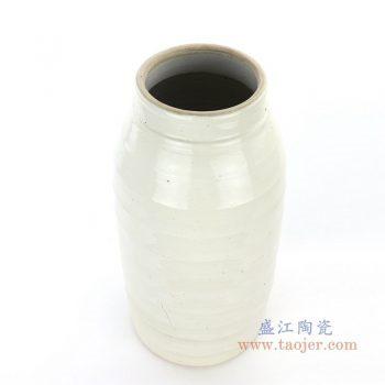RZPI06-C 盛江陶瓷 仿古做旧高温大号茶叶罐