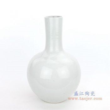 RZPI08 盛江陶瓷 仿古做旧高温单色釉天球瓶